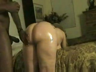 Large arse titty white wench getting pumped hard