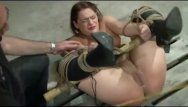 Wasteland sm movie scene - maledom with brunette hair