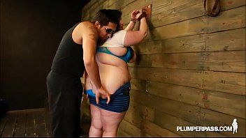 Bbw eliza allure cant live without titties slapped and screwed