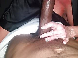 Hawt breasty golden-haired milf cougar luvs two unfathomable mouth my youthful bbc