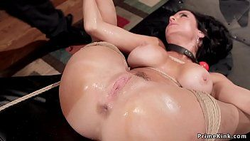 Breasty nympho milf in anal servitude