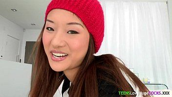 Bigcock loving oriental legal age teenager facialized