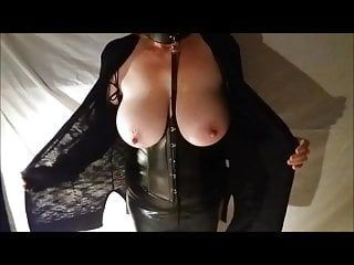 Large tit wife in servitude gear