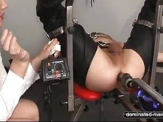 Anal fuck machine - pang for his booty