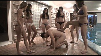 Femdom gals have a fun to tortured their slaves