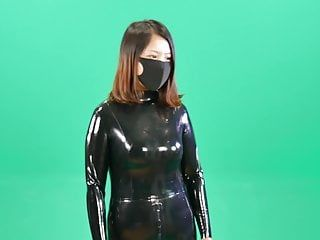 Fx-tube.com tortured latex fetish bondman gal