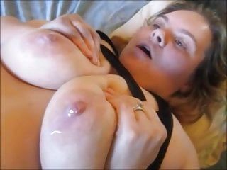 Sexy wax torturing on teats and snatch painful totrue