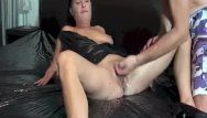 Fisting the wife untill this babe gushes torrents of
