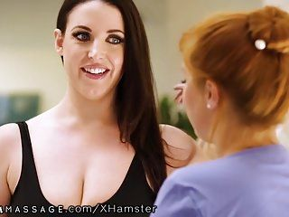 Nurumassage angela white reluctant to shower with wicked re