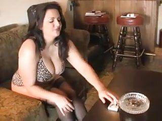 Hawt curvy aged bbw smokin and diddling