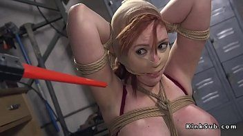 Boy anal screwed breasty redhead in servitude