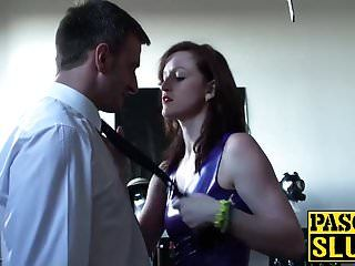 Hawt bitch goddess vivienne swaps the roles and receives dominated