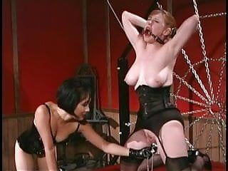 Oriental mistress gags and whips sluts