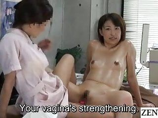 Jav lesbo massage clinic slit tug of war subtitled