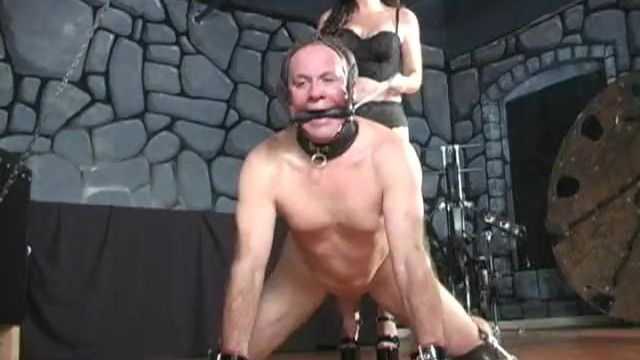 Evil way of taking manhood femdom ballbusting