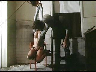 Strung up - vintage slavery titties tied constricted