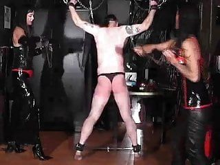 Whipping and caning - have a fun the pang