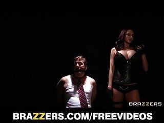 Hot female-dom ava addams has her turn being dominated