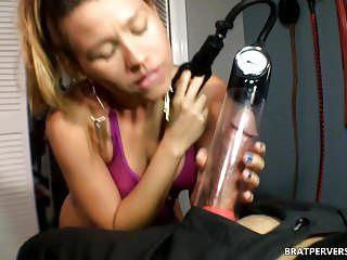 Weenie control: dong pump tease