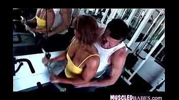 Hot hardbody working out