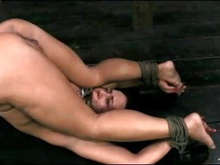 Bound, screwed and drenched in her own squirt