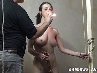 Cold-blooded slaveslut punishment of emily x in way-out pang