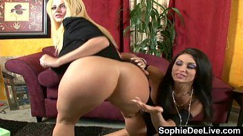Excited angel talk with sophie dee