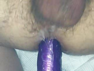 Thong on banging my spouse with 10 inch sex-toy