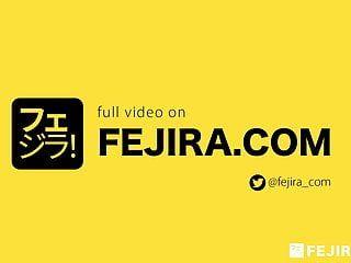 Fejira com leather cutie self slavery with chain receive big o