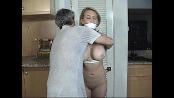Door to door beauty fastened and gagged part two