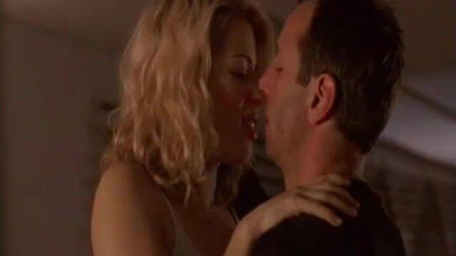 Femdom strap-on scene in mainstream movie scene
