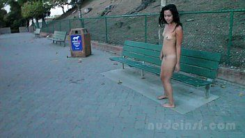 Stripped in san francisco: iris undressed in public