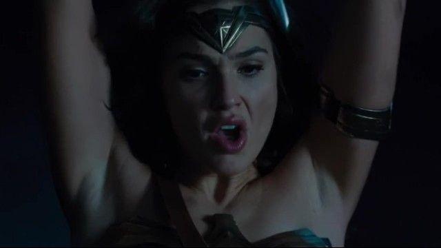 Girl gadot sexy armpits scenes. wonder woman 2017