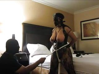 Indian villein wife wild orgasms, clamps, and tit slapping