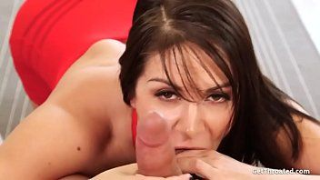 Breathtaking lea lexis drilled in throat