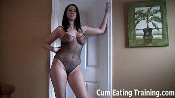 Ill make u into a cum eating sissy doxy