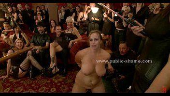 Nude sex slaves public torturing