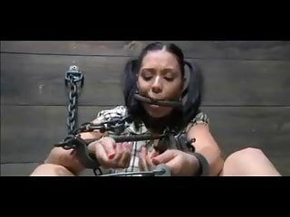 Handcuffed bondman sadomasochism pevert training pang and humiliation
