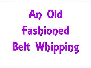 Free preview: an old fashioned strap whipping