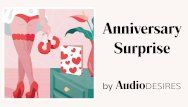 Anniversary surprise audio porn for women, erotic audio, hawt asmr