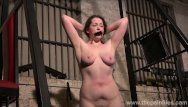 Lifestyle sadomasochism villein alora lux bare and whipped in the dungeon by dominant