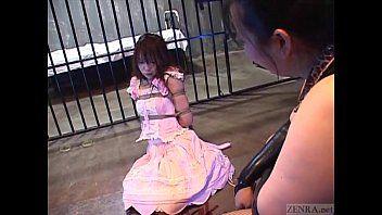 Subtitled enf cfnf japanese femdom sadomasochism with flogging
