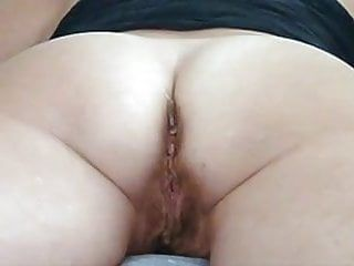 Home made anal : wazoo milf serf receives stretched