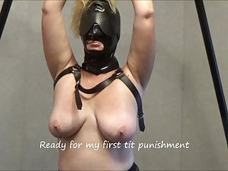8-19-18 session: pt.2 1st breast punishments