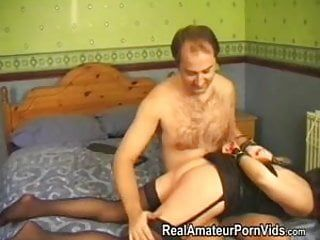 Fastened up and spanked in advance of anal drilling him