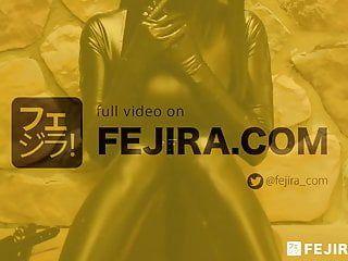 Fejira com leather beauty self servitude with sex toys