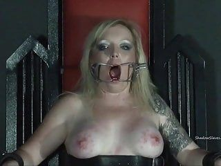 Tower of pang tortures of golden-haired lifestyle slavegirl girl