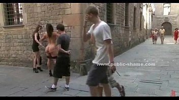 Sex bondman stuffed in public sadomasochism humiliation sex clip
