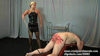 Unmerciful punishments, caning, whipping, bastinado